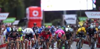 Jempy Drucker, Dritter auf der letzten Vuelta-Etappe 2015 in Madrid, sieht seinen nächsten Einsatz bereits wieder am nächsten Samstag beim Primus Classic Impanis-Van Petechem.