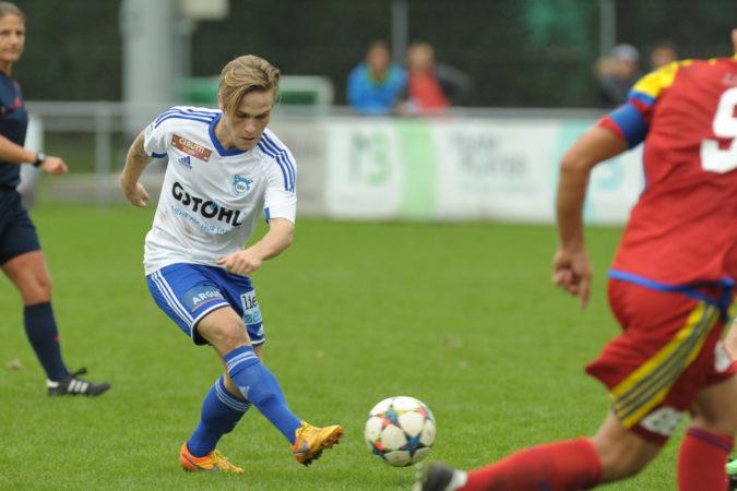 Marco  Fässler erzielte gegen United Zürich in der 29. Minute den 0:1-Führungstreffer.