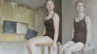 Jess de Zilva, Oel auf Leinwand, Exponat