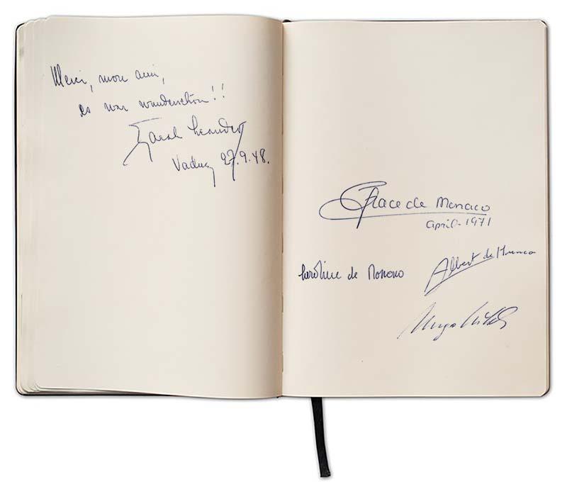 Berühmtheiten wie Zarah Leander oder die  Fürstenfamilie von Monaco waren zu Gast im Real.
