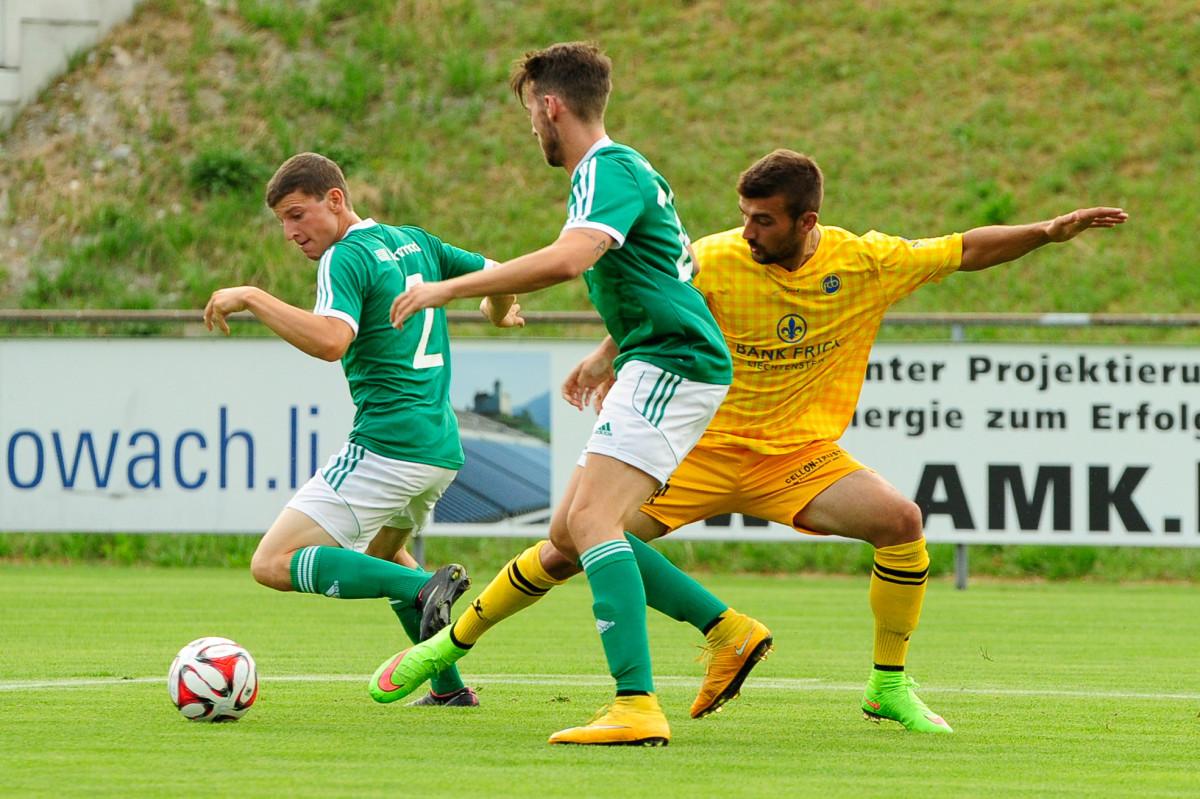 Der FC Ruggell steht in der 3. Liga Gruppe 2 an der Spitze und strebt den Aufstieg an. Bild: Jürgen Posch