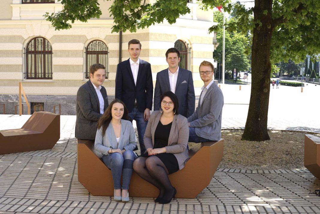 Der diesjährige Jugendrat Vorstand.