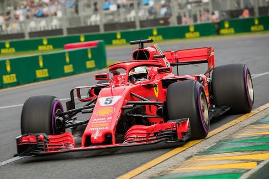 Formel I Sebastian Vettel Gewinnt Den Gp Von Australien Liezeit
