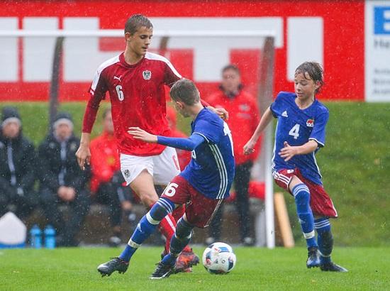 Liechtenstein Fussball U15 Nationalmannschaft Zweimal Gegen