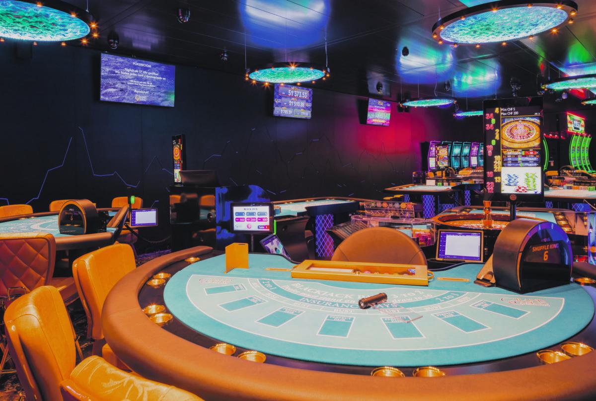 Mitarbeiter Im Casino